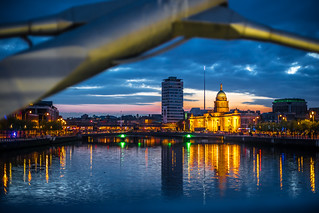 The Custom House at sunset, Dublin, Ireland | by Giuseppe Milo (www.pixael.com)