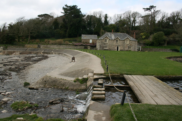 Coast path at Polridmouth