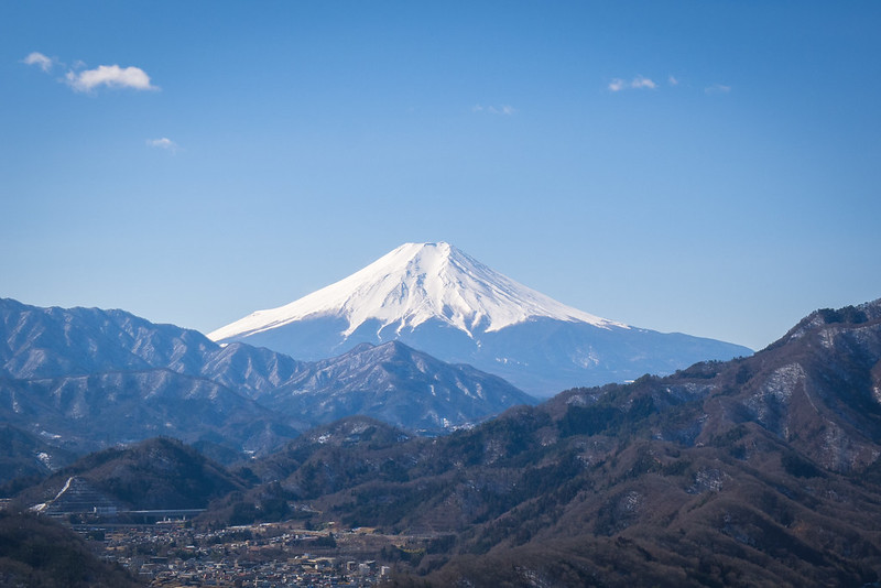 The view from 岩殿山
