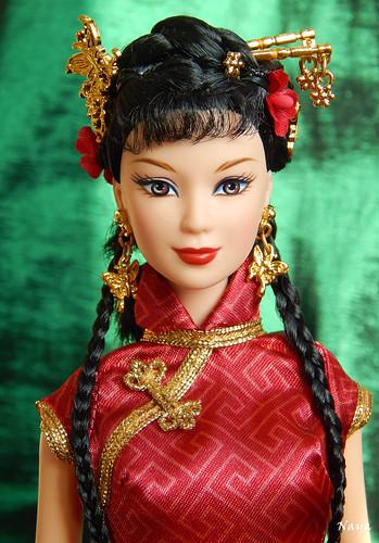 Chinese New Year Barbie | Naya_alica | Flickr