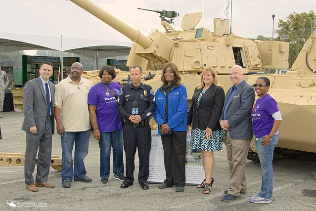 2016 Torrance Armed Forces Day Display