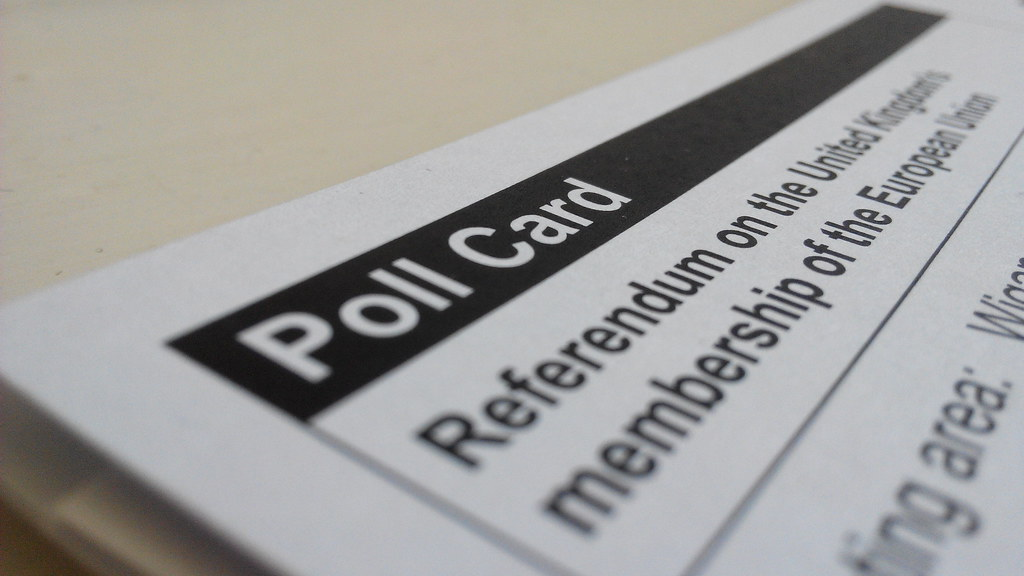 Poll Card EU referendum
