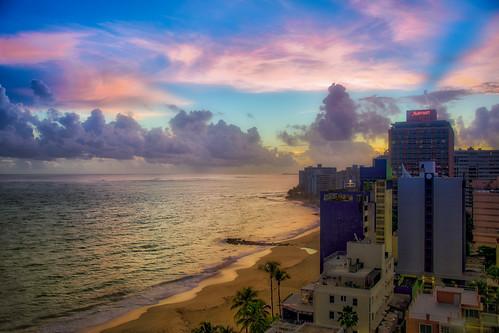travel sunrise puertorico sanjuan urbanexploration caribbean landscapephotography macphun aurorahdr puntapiedrita