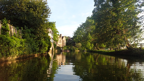 uk river fun scenery may oxford rowing oxfordshire 2016 magdelan