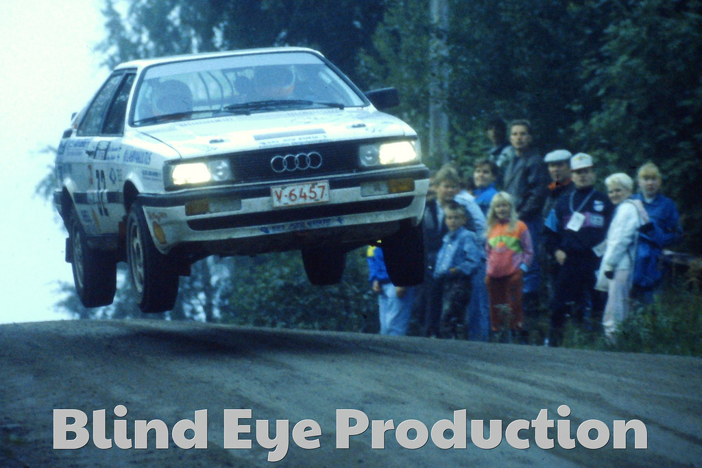 506 Audi Jump Action Pictures Fi Jussi Rantala Flickr