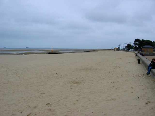 The beach at Ryde