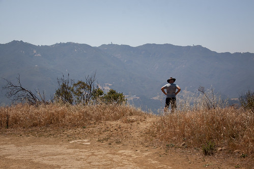 Man with a Hat - Eagle Rock Trail, Topanga State Park - California | by ChrisGoldNY
