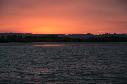 sunset night oz australia clear nsw newsouthwales redsky aussie ballina richmondriver