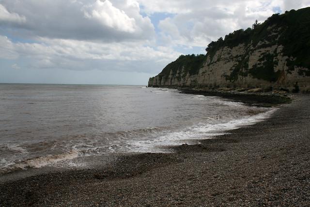 The beach at Beer, East Devon