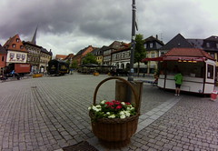 Lichtenfels square, June 2015