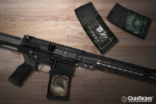 AR-10 Mag Skins