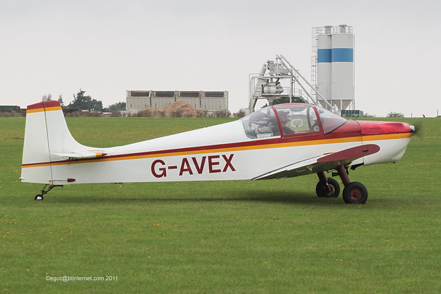 G-AVEX - 1967 Rollason built Druine D.62B Condor, at the 2011 LAA Rally as Sywell