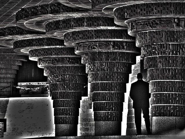 Las curvas del templo / Temple curves