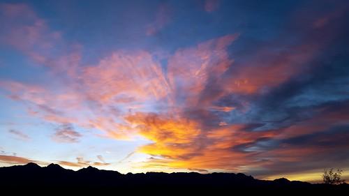 clouds sunrise paintedclouds