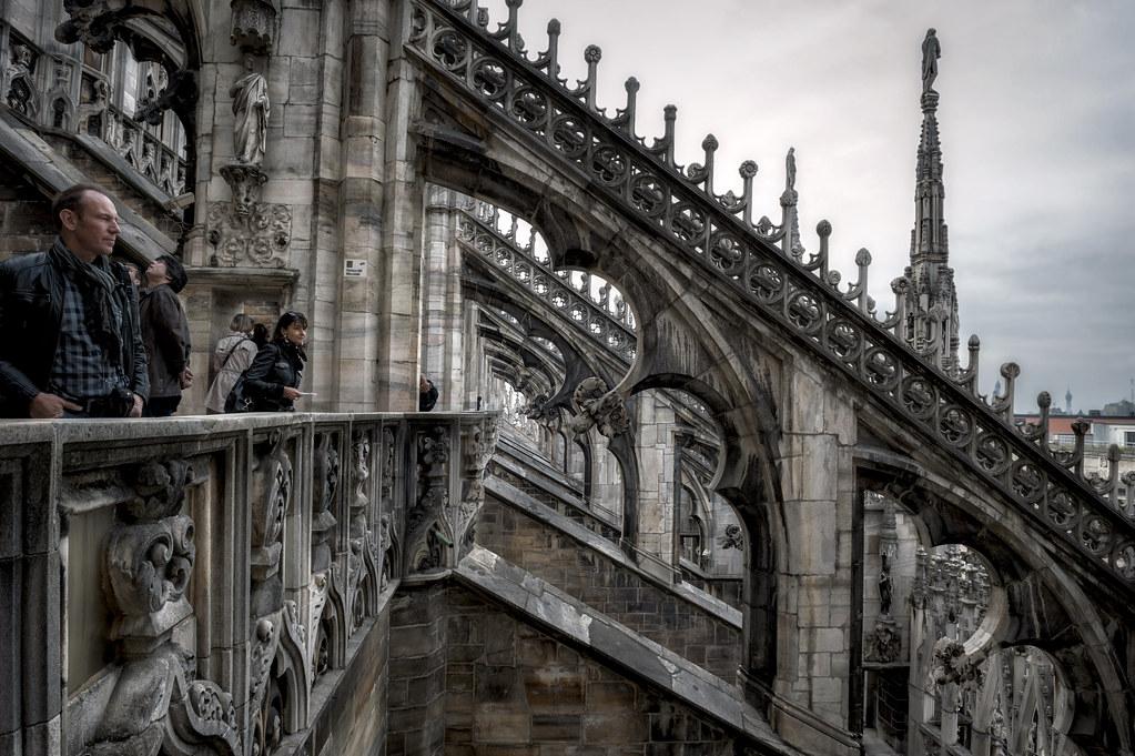 Terrazze Del Duomo Di Milano Roberto Ricci Flickr