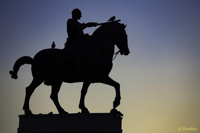 Padova: equestrian statue of Gattamelata - Donatello