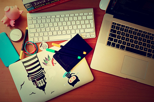 My desk this morning | by igo.rs