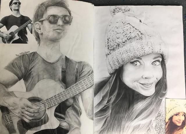 Josh Farro and Zoe Sugg