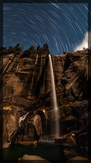 Vernal Fall under the Stars