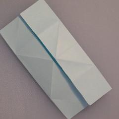 วิธีพับกระดาษเป็นรูปผีเสื้อ 007