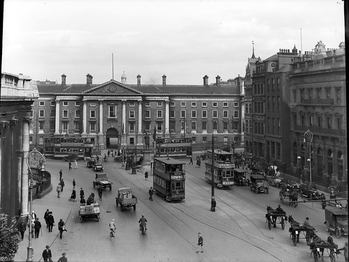 All of early 20th century transport is here… | by National Library of Ireland on The Commons