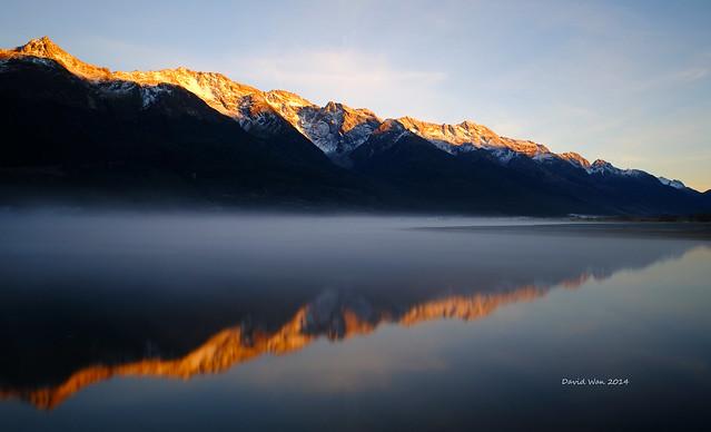 Morning reflection- New Zealand