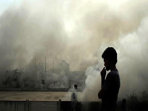 वायु प्रदूषण और मानव जीवन (Air pollution and