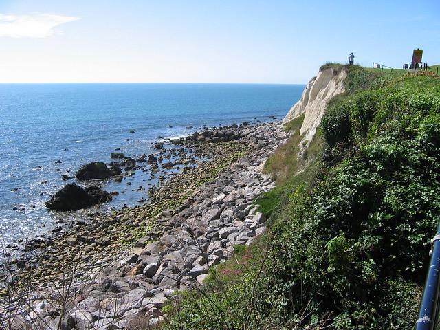 The coast path west of Ventnor