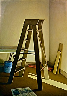 Nook with stepladder (1988) - Manuel Amado (1938) | by pedrosimoes7