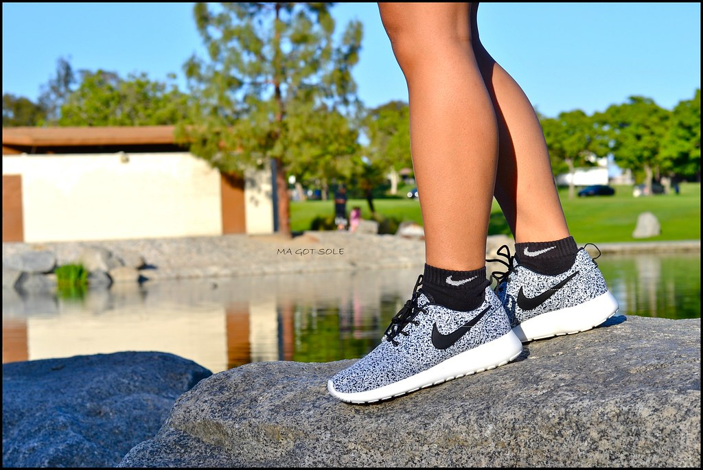 hot sale online bfb03 543ae ... Nike Roshe Run - Black Speckle   by Ma Got Sole
