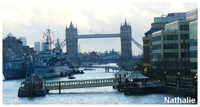 La Tamise et un pont très connu.