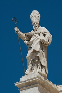 Statue of saint Marziano, Cathedral Siracuse | by LYSVIK PHOTOS