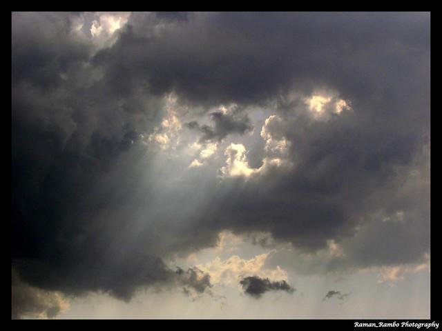 Mumbai Pune Express Highway - Cloud Overcast