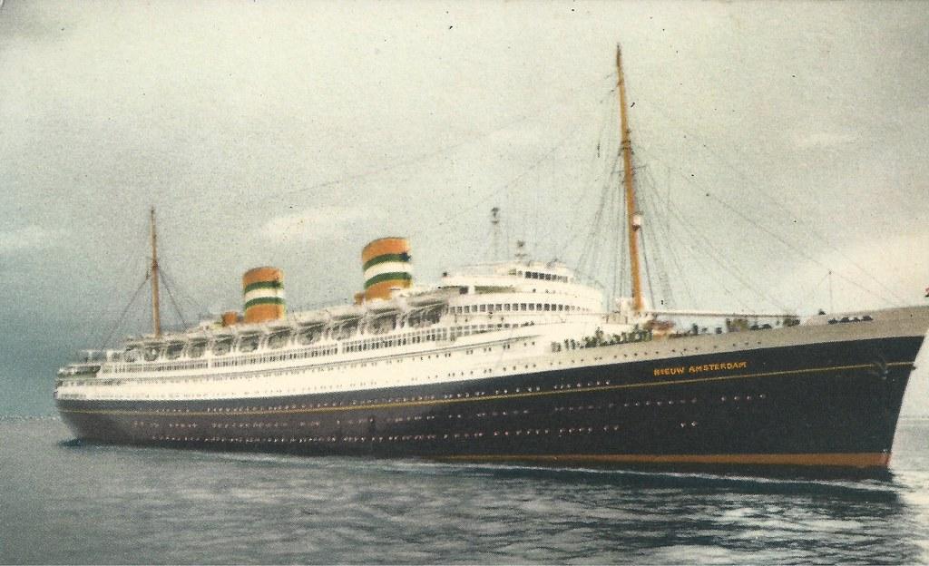 S.S. Nieuw Amsterdam, Ship, Cruise Ship, Holland-America Line