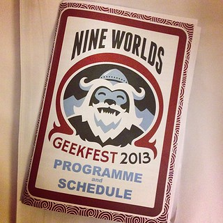 #nineworlds #geekery | by andyp uk