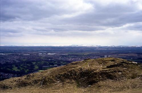 "Image titled ""At the peak, Arthur's Seat, Edinburgh."""