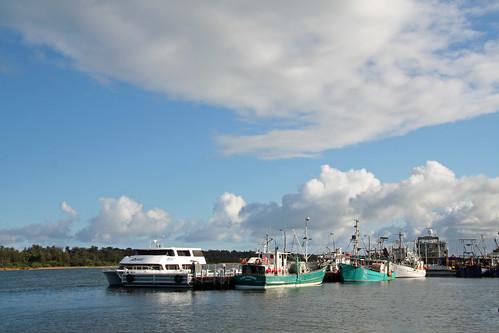 seascape boat australia victoria lakesentrance