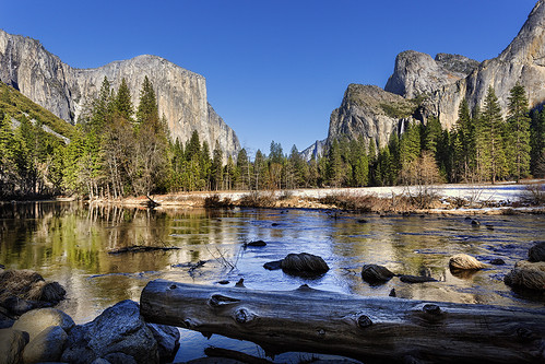 The Valley View - Yosemite