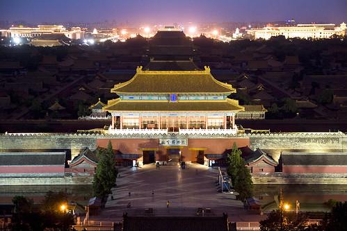 Forbidden City from Jingshan hill, Beijing | by Dimitry B