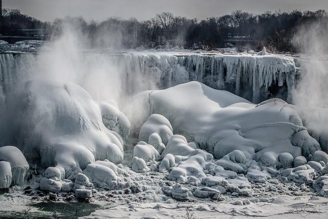 Frozen Falls - Niagara US