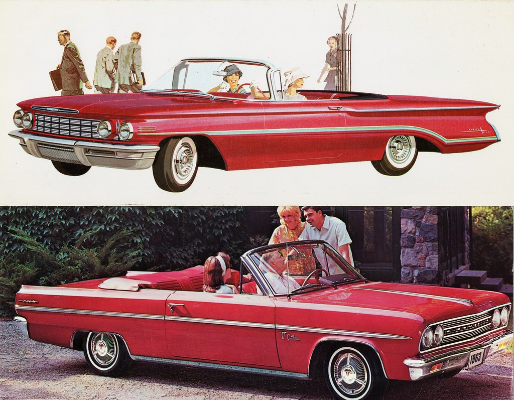 1960 Oldsmobile 98 & 1963 Olds F-85 Cutlass Convertibles