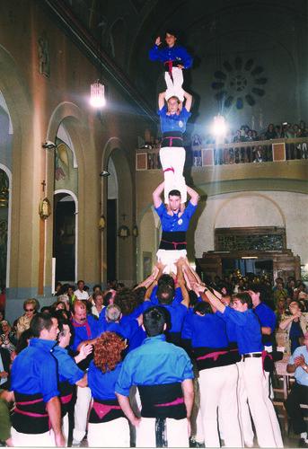 032. Pilar a l'Església, 1999 | by Cargolins