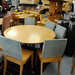 Linge Roset circular table and chairs