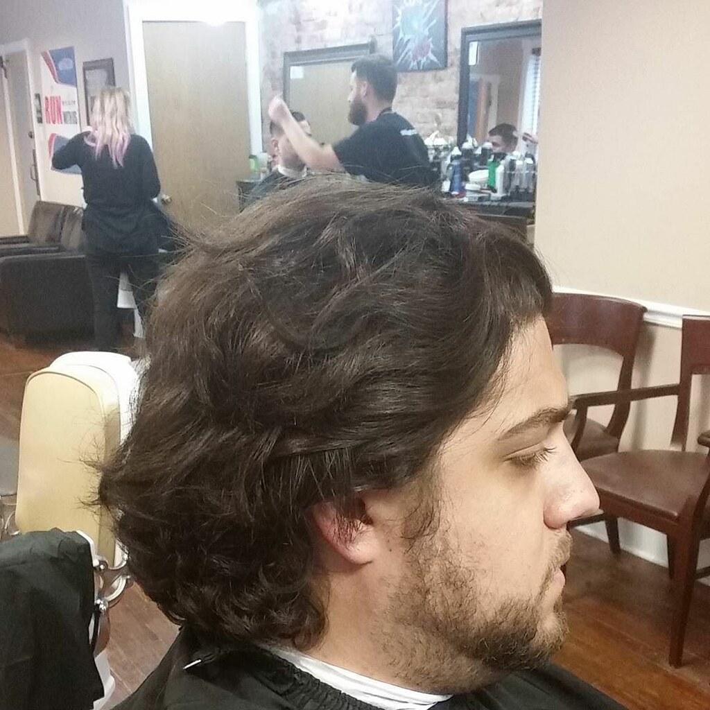 BEFORE Guess the haircut  #pompadour #undercut #fade #clas