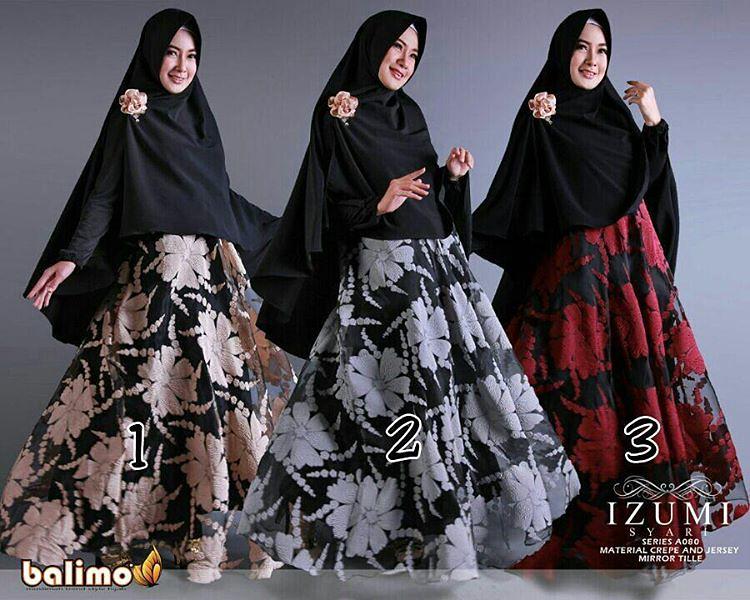 IZUMI By Balimo Limited Edition Gamis Syari Mewah Elega