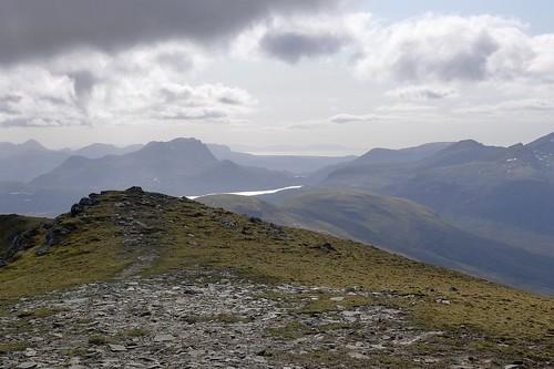 Slioch and Lochan Fhada from A' Chailleach | by Nick Bramhall