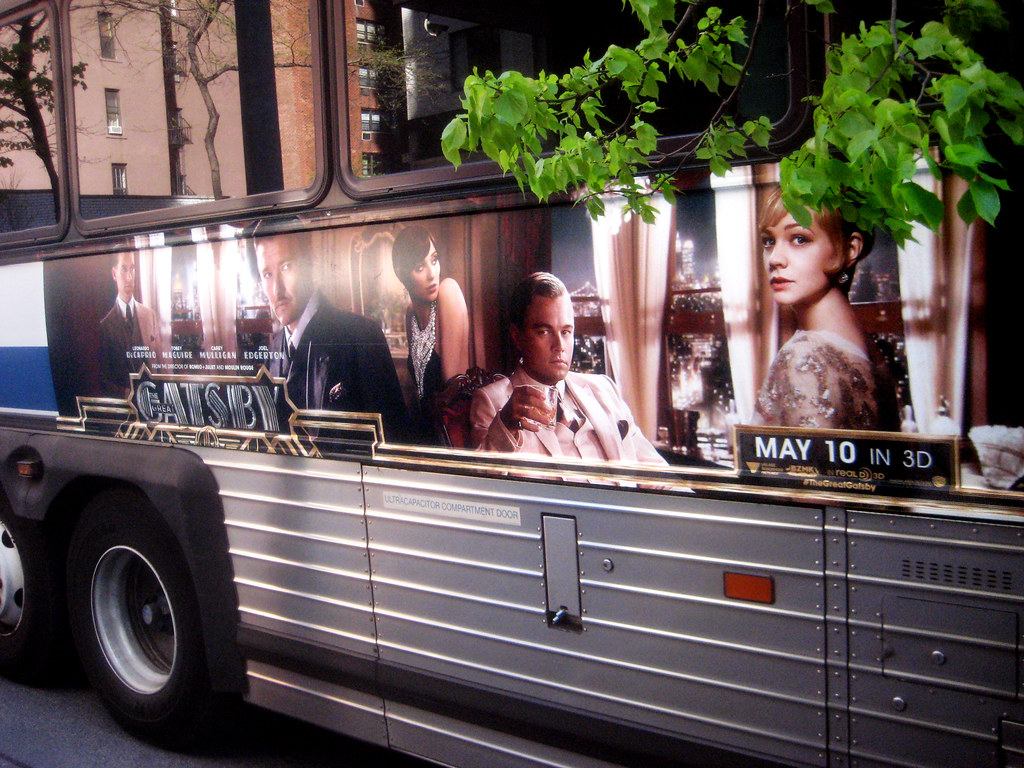 The Great Gatsby Film Bus AD Billboard Poster 9129 | Flickr
