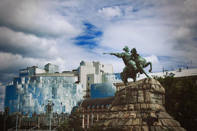 Monument to Bogdan Khmelnitsky