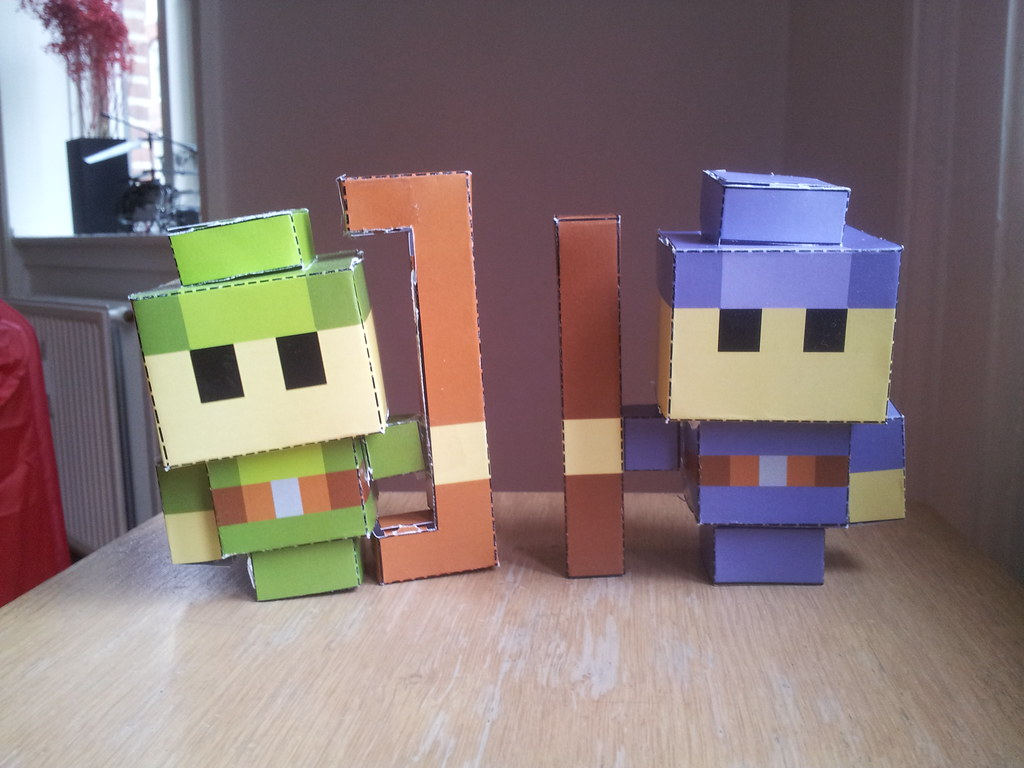 Archer Wizard Realm Of The Mad God Papercraft Philippe