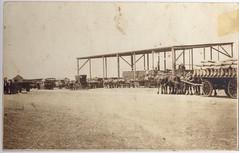 Calomba Railway siding in c.1918